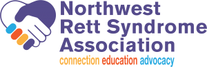 Northwest Rett Syndrome Association logo.